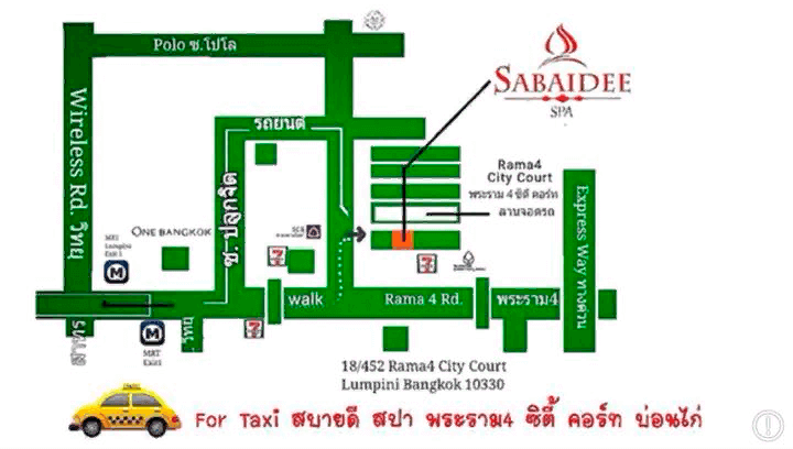 sabaidee spa for taxi